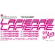 Sticker cadre Lapierre vélo XXL 2014