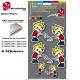 sticker Pisseur décoration planche