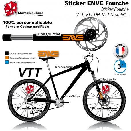 Sticker fourche ENVE