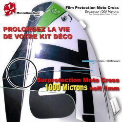 Film protection Kit déco Moto Cross surfilm peau rhinocéros