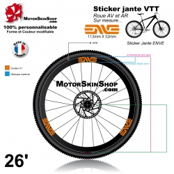 Sticker jante ENVE VTT