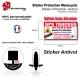 Sticker Antivol Monocycle électrique protection