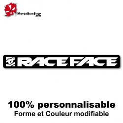 Sticker vélo Race Face Manivelle