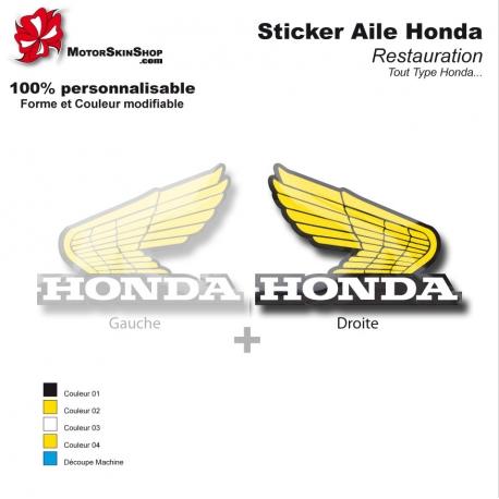 Sticker Honda aile Type Or