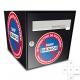 Sticker Boite aux lettres stationnement interdit