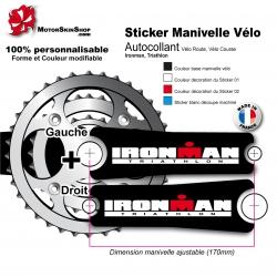 Sticker Manivelle Ironman Triathlon
