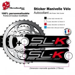 Sticker Manivelle FSA SLK