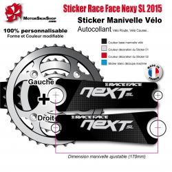 Sticker Manivelle Race Face Next SL 2015