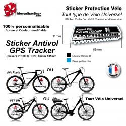 Sticker Puce Antivol vélo universel GPS Tracker couleur
