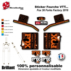 Sticker Fourche Fox 36 Forks Factory 2016