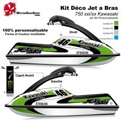 Kit déco Jet Ski 750 sxi Kawasaki