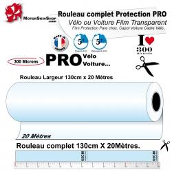 Film de Protection Vélo 20 mètres PRO Grand Rouleau complet 300 microns