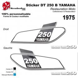 Sticker DT 250 Yamaha 1975