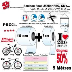 Pack Atelier Film Protection PRO Vélo Route et VTT 200 Microns