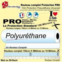 Film de Protection Vélo 5 mètres PRO Grand Rouleau complet 300 microns