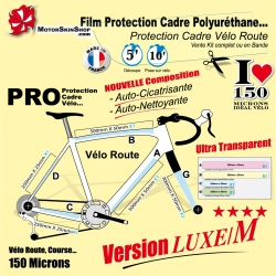 Film Protection Vélo Route Luxe M Polyuréthane
