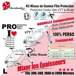 Mixeur de Gamme L personnalisable Protection cadre Vélo VTT et Route