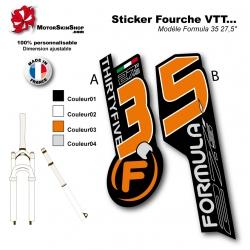 "Sticker Fourche Formula 35 27,5"""
