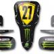 Kit déco Karting Tony Kart M6 Personnalisable Monster Energy