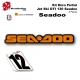 Kit déco GTI 130 Seadoo 3 places décoration