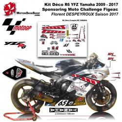 Kit Déco R6 YZF Yamaha 2009 - 2017