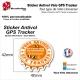 Sticker Puce Antivol vélo universel GPS Tracker