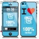 Sticker iPhone twitter