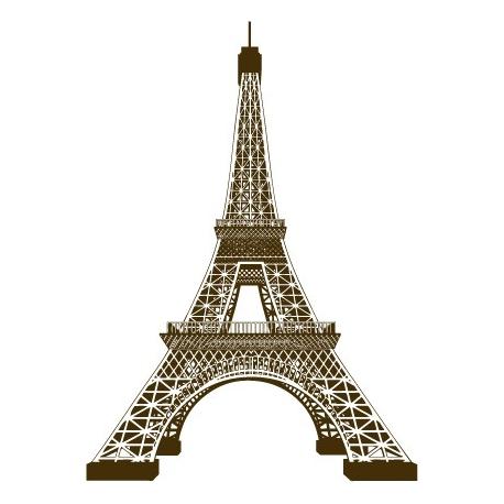 Tour Eiffel 3D Vecteur