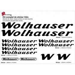 Sticker cadre Vélo Wolhauser
