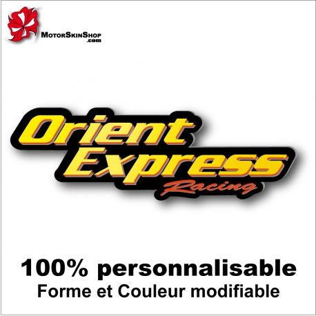 Sticker Orient Express Racing