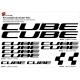 Sticker cadre Cube