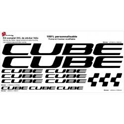 Sticker cadre Cube XXL