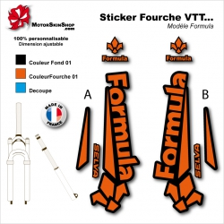 Sticker Fourche Formula VTT