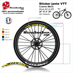 "Sticker jante VTT Cosmic 26"" 27.5"" 29"""
