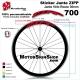 Sticker Jante ZIPP vélo roue 700 ou 650B 30MM