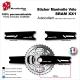 Sticker Manivelle SRAM XX1 Vélo