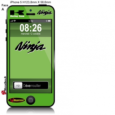 Sticker iPhone Suzuki ZX7R Ninja