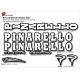 Sticker cadre vélo Kit Pinarello Ancien