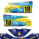 Kit déco Karting KG FP7 F1 Renault