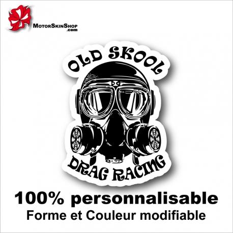 Sticker Drag Racing Old Skool