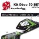 Kit déco 50 Beta RR 06-12 Monster Energy 50CC a boite
