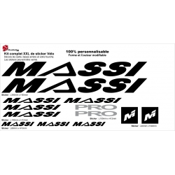 Sticker Massi PRO Cadre vélo
