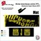 Sticker Amortisseur Bonbonne Super Deluxe 2018