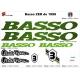 Sticker Basso cadre vélo ZER de 1998