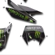 Kit Déco 50 Derbi Xtrem SM Monster Energy 2011-2017 50CC à boite Perso
