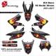 Kit Déco 50 Derbi Xtrem SM 2011-2017 50CC à boite Perso D