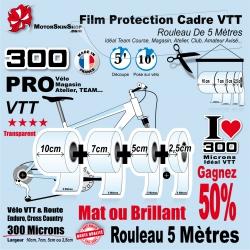 Rouleau Film Protection VTT Atelier PRO 300 Microns en rouleau Brillant ou Mat