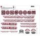 Sticker cadre Mongoose BMX Taille XXl 90-95