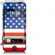 Sticker iPhone Drapeau Americain USA