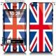 Sticker iPhone Drapeau Anglais